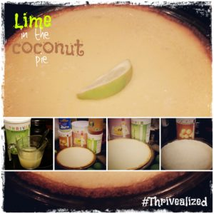 Lime in the Coconut Pie
