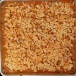 Rice crust - top with cheese